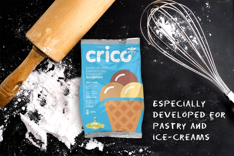 CRICO' – THE UNIQUE AND INNOVATIVE HOMOGENEISED, PASTEURISED