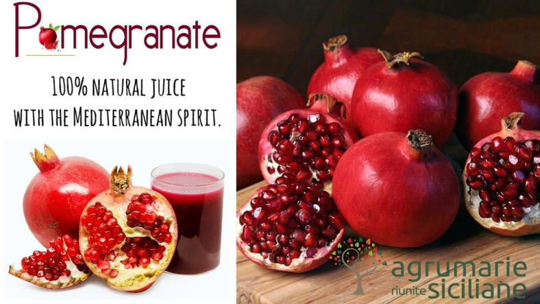 Slider pomegranate juice for likedin and wordpress